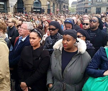 African Diaspora remember ancestors during Amsterdam World War II memorial