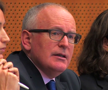 Frans Timmermans speaks on intersectionality during ARDI launch